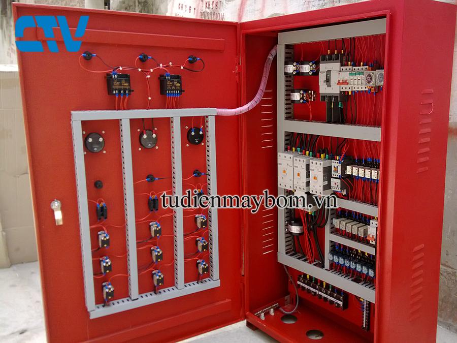 Thiết Kế Tủ Điện Cho Hệ Thống Phòng Cháy Chữa Cháy