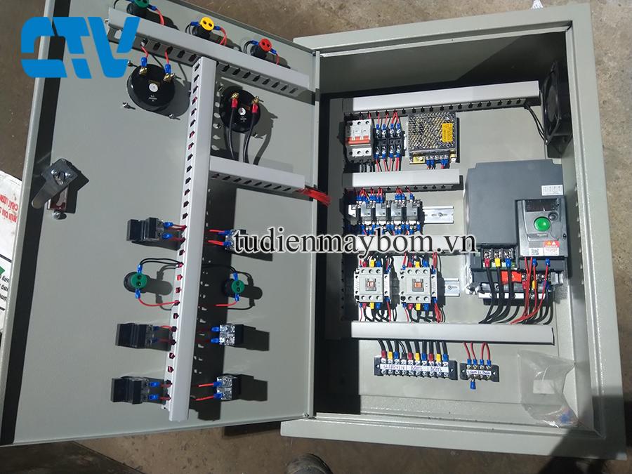 Tư Vấn Thiết Kế, Lắp Đặt Tủ Điện Cho Hệ Thống Máy Bơm Tăng Áp