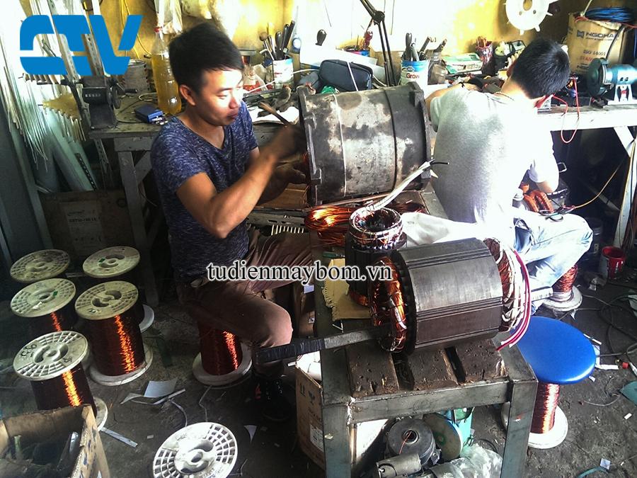 Biện pháp xử lý lỗi động cơ máy bơm bị cháy