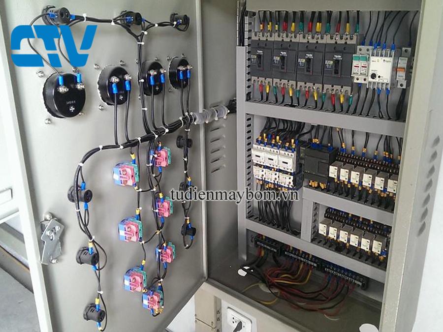 Thiết kế, lắp đặt tủ điện cho hệ thống máy bơm nước