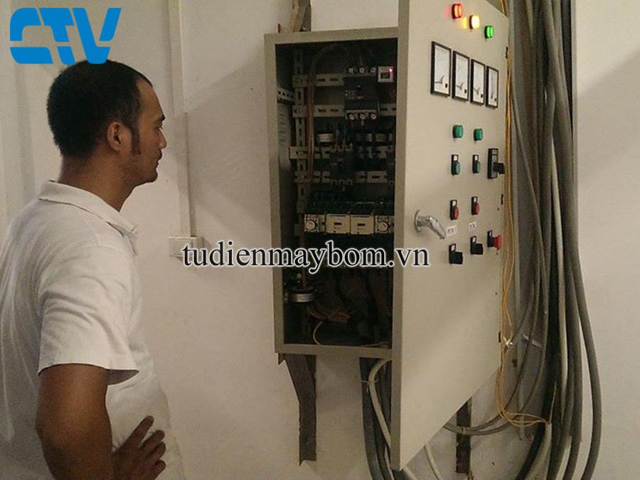 Tủ điện điều khiển máy bơm nước