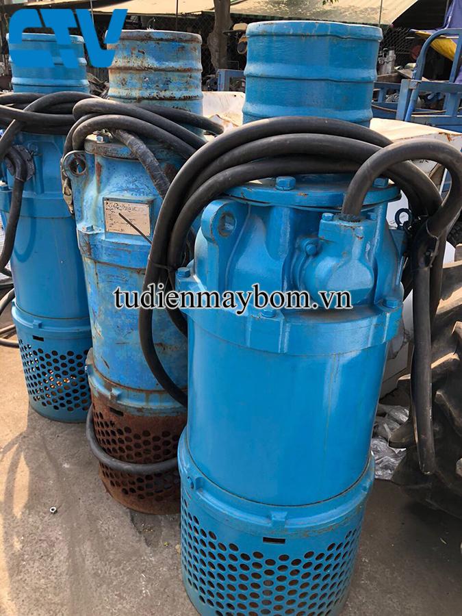 Cho thuê máy bơm chìm hố móng giá rẻ tại Hà Nội