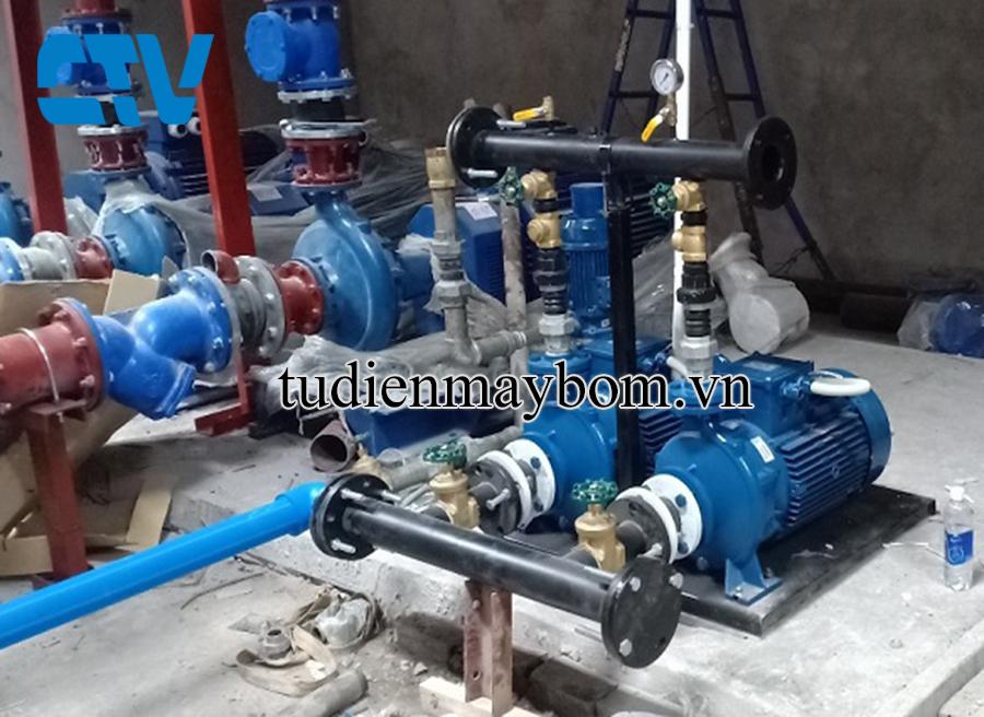 Thiết kế, lắp đặt hệ thống máy bơm công nghiệp trong các khu công nghiệp, tòa nhà cao tầng