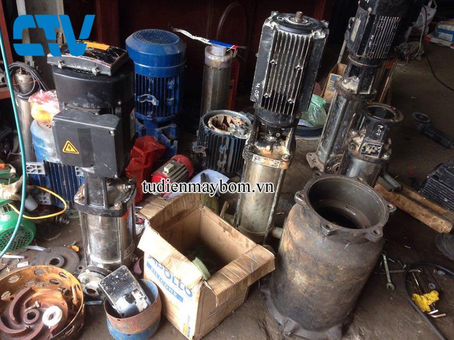Đơn vị sửa chữa máy bơm công nghiệp tại Thanh Trì Hà Nội
