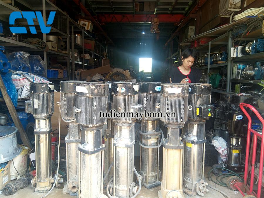 Trung tâm cho thuê máy bơm nước trục đứng