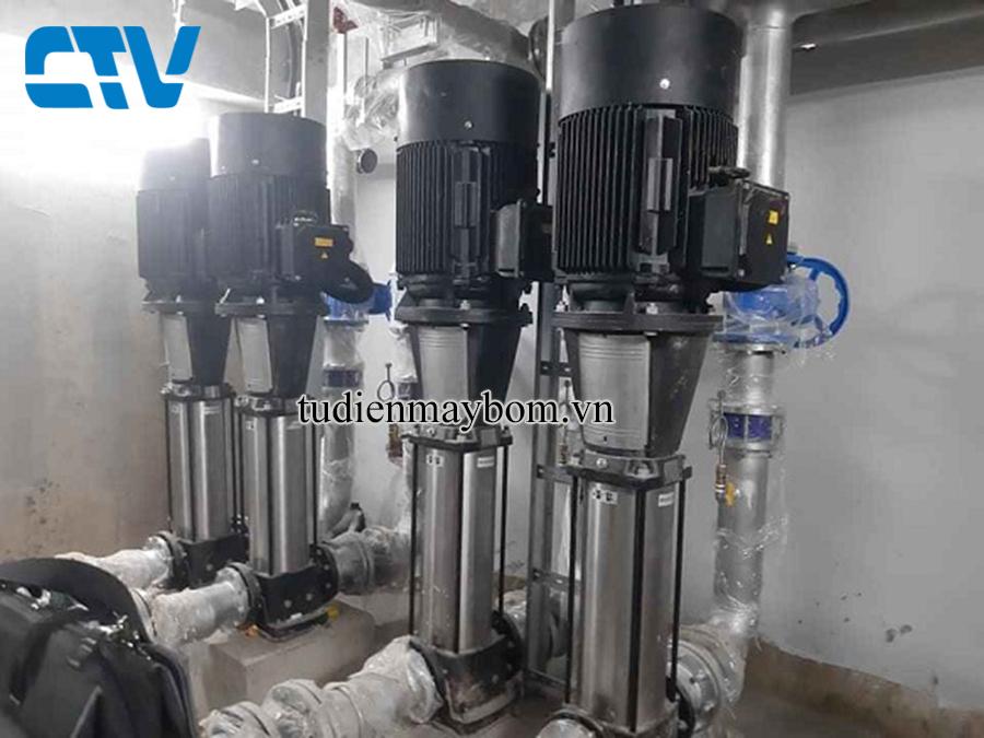 Cho thuê máy bơm nước tại Thanh Trì Hà Nội