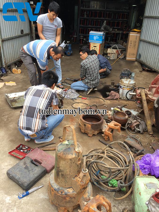 Địa chỉ sửa máy bơm các loại tại Thanh Trì - Hà Nội
