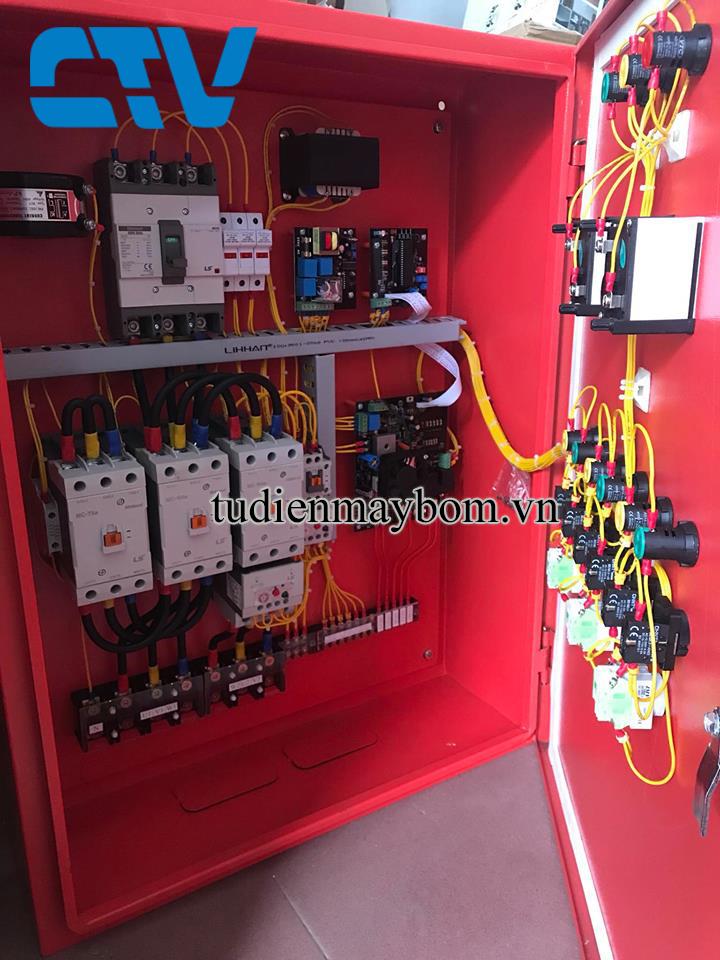 Tủ điện điều khiển máy bơm Phòng cháy chữa cháy