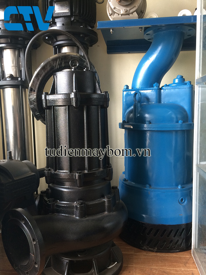 Cho thuê máy bơm chìm nước thải tại Hà Nội