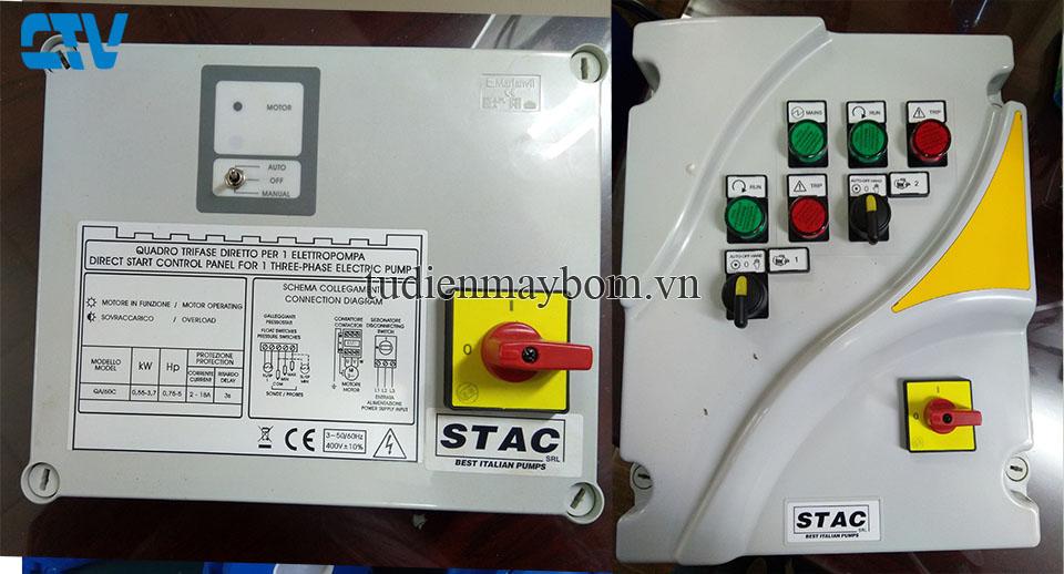 Tủ điện bảo vệ máy bơm hãng Stac Italia