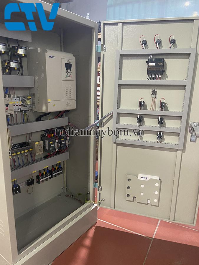Thiết kế, lắp đặt tủ điện điều khiển bằng biến tần sử dụng cho máy bơm 37Kw